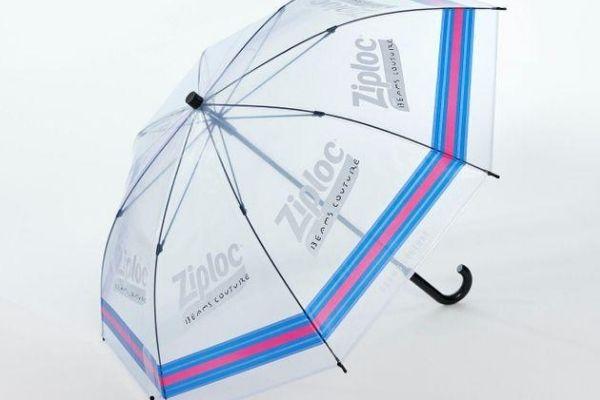 ジップロック傘はビームスで買える?