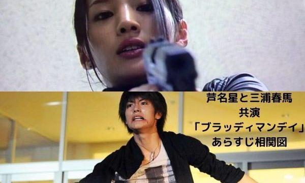 芦名星と三浦春馬が共演したドラマのあらすじは?ブラッディマンデイ相関図をチェック!