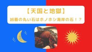 【天国と地獄】凶器の丸い石はホノホシ海岸の石!?奄美大島ロケ地撮影場所を特定!
